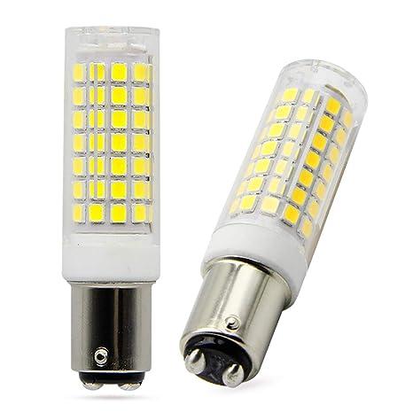 ba15d led light bulb 6 watt consumption 75 watt halogen equivalent rh amazon com