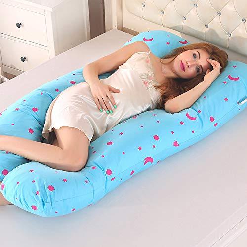Pregnant Pillow Women Sleeping Support Cotton Pillowcase U Shape Maternity Sleep
