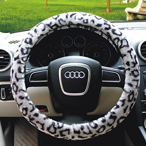 fleece steering wheel cover - 4