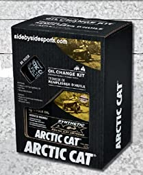 Arctic Cat Oil Change Kit- Synthetic ACX 4-Cycle