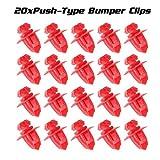 98 tacoma fender flares - PartsSquare 20pcs Fender Liner Fastener Rivet Push Clips Retainer Fastener for Toyota 4Runner Sequoia Tacoma Tundra
