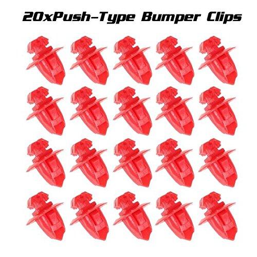- PartsSquare 20pcs Fender Liner Fastener Rivet Push Clips Retainer Fastener for Toyota 4Runner Sequoia Tacoma Tundra