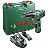 Bosch PSR 1080 LI Cordless Lithium-Ion Drill Driver with 1 x 10.8 V Battery, 1.5 Ah