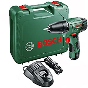 bosch psr 1080 li cordless drill driver with 10 8 v. Black Bedroom Furniture Sets. Home Design Ideas