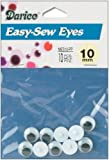 Sew On Wiggle Eyes 10mm (8 Pack)