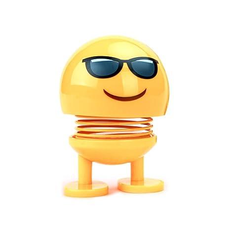 Amazon.com: Emoji Shaking Head Doll Bounce Toys For Car ...