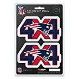 NFL 4x4 Team Decal, 2-Pack