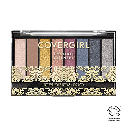 Covergirl TruNaked Queenship Eyeshadow Palette, 8 Shades, Pack of 1