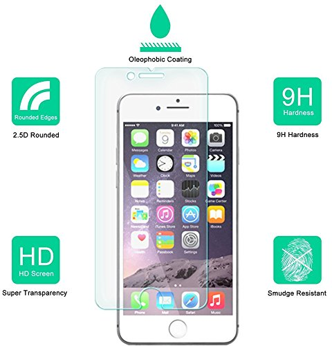 Buy tempered glass protector for iphone 7 plus
