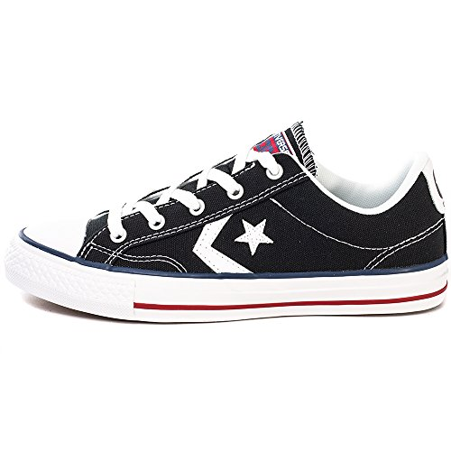 Converse Star Player Shoes - Black/ White