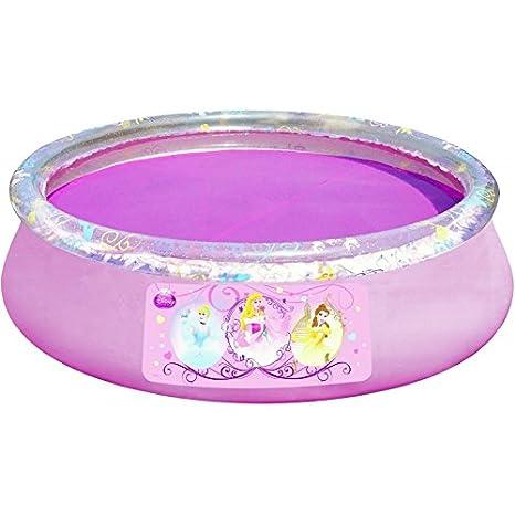 Amazon.com: Bestway Disney Princess Fast Set Por Encima del ...