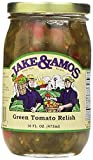 jar of tomatoes - Jake & Amos Green Tomato Relish / 2 - 16 Oz. Jars