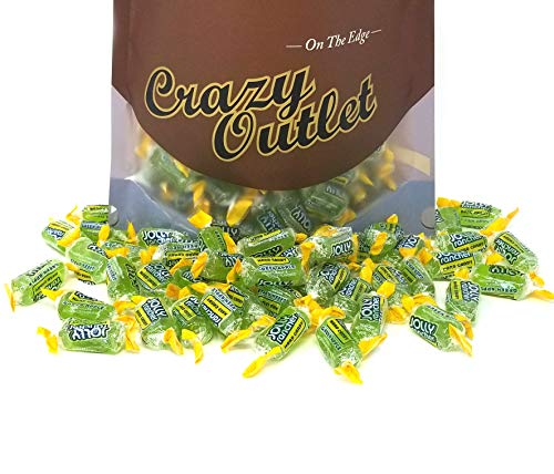 CrazyOutlet Pack - Jolly Rancher Green Apple Hard Candy, Bulk Pack, 2 lbs ()