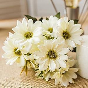 Artificial Flowers, European cosmos flower Bouquet Hotel Office Wedding Party Garden Craft Art Decor 75