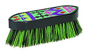 Weaver Leather Aztec Bling Brush, Lime, Small