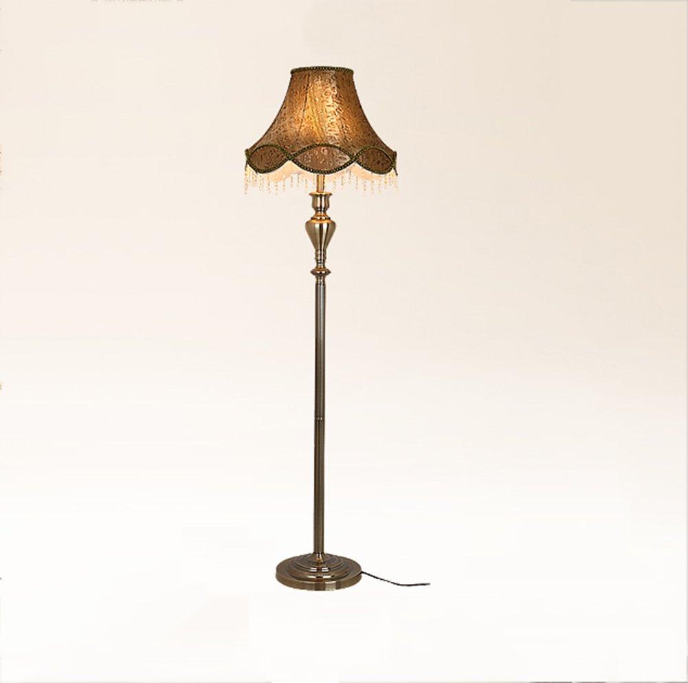 GRJH® ヴィンテージフロアランプコンチネンタルリビングルームJian OuホテルロビーフットスイッチE27ハイ151cm 淡色にすることができる,エレガントでシンプルな (色 : #1) B07D6ZJ6QV 27865  #1