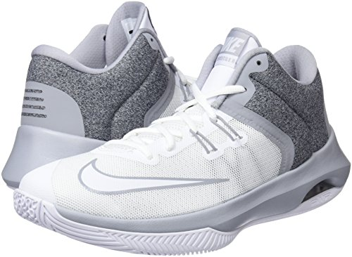 Da Uomo Nike white wolf Versitile Scarpe Basket Ii Air Grey 101 Bianco wqZIfq