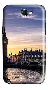Samsung Note 2 Case Big Ben London 3D Custom Samsung Note 2 Case Cover