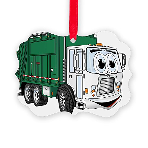 CafePress Garbage Christmas Ornament Decorative