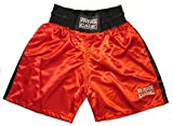 Traditional Boxing Trunks, Blue or Red