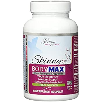 Skinny Body Max - All Natural Appetite Suppressant and Weight loss Supplement - 120 Capsules