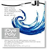 iDye Poly Blue - For Polyester And Nylon Fabrics
