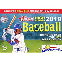 $22 » 2019 Topps Heritage High Number Baseball EXCLUSIVE Factory Sealed Retail Box! Brand New! Look for Rookies & Autos of Pete Alonso,…