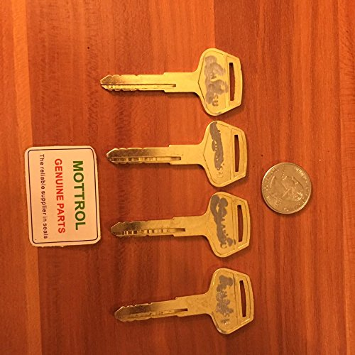 7 Excavator (PC-7 KEYS 4 PCS FOR KOMATSU EXCAVATOR PC120-7 PC130-7 PC200-7 PC300-7 PC400-7)
