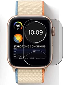 Puccy Privacy Screen Protector Film, compatible with Watch Nike 44mm Anti Spy TPU Guard ( Not Tempered Glass Protectors )