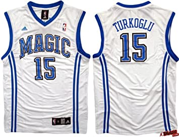Adidas - Camiseta de Hedo Turkoglu Orlando Magic de la NBA (talla L)