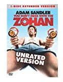 You Don't Mess With the Zohan (Unrated Extended Single-Disc Edition) by Sony Pictures Home Entertainment