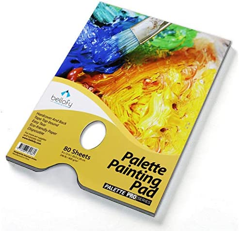 Bellofy Palette Painting Pad Watercolors product image