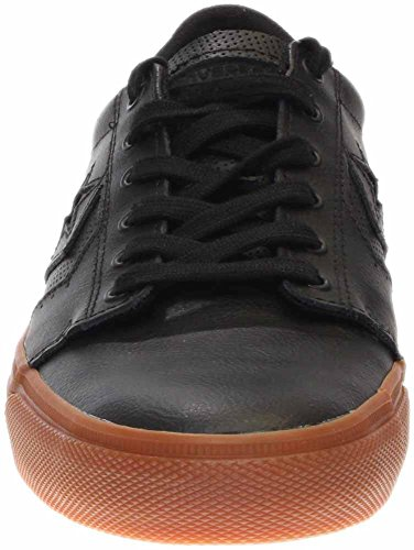 Men's Ankle Ka3 Converse High gum Leather Fashion Sneaker Black 4Tfdqf6