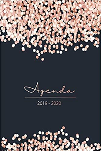Agenda 2019 2020: Agenda semanal 15 meses - Organiza tu día ...