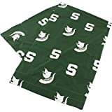 College Covers Michigan State Spartans Pillowcase Only-Body Pillow, 20'' x 60'', Green