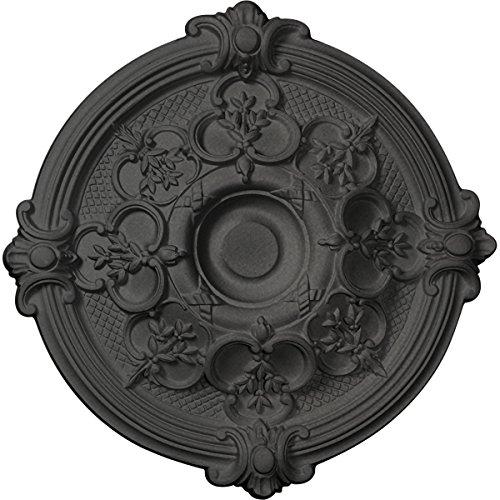Ekena Millwork CM17HASGS Hamilton Ceiling Medallion, 17 3/8'' OD x 1 3/4'' P, Steel Gray by Ekena Millwork (Image #6)