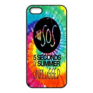 Custom High Quality WUCHAOGUI Phone case 5SOS music band Protective Case For Apple Iphone 5 5S Cases - Case-13