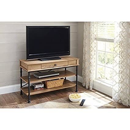 Amazoncom Better Homes And Gardens River Crest Tv Stand For Tvs Up