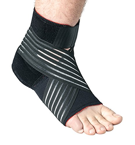Thermoskin Medicine (Thermoskin Foot Stabilizer, Black, Large)