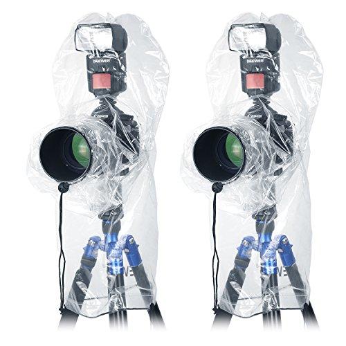 Neewer 4 Pieces Camera Rain Cover Protector for Canon Nikon