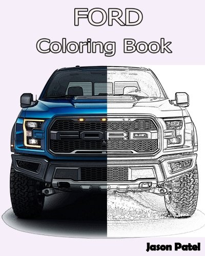 2012 Ford F350 Dually Lifted coloring page | Free Printable ... | 500x400