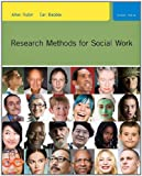 Research Methods for Social Work, Rubin, Allen and Babbie, Earl, 0840032692