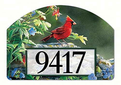 Magnet Works MAIL71127 Cardinal Perch Yard DeSign