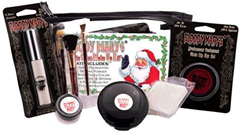 [Bobbie Weiner Santa Claus Professional Character Makeup Kit] (Mrs Claus Costume Makeup)
