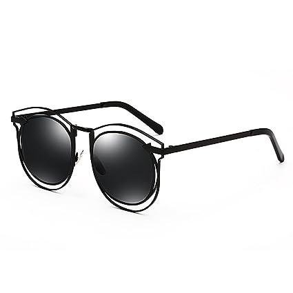 DT Gafas de Sol Femeninas Gafas de Sol polarizadas Gafas Coreanas Delgadas (Color : 1