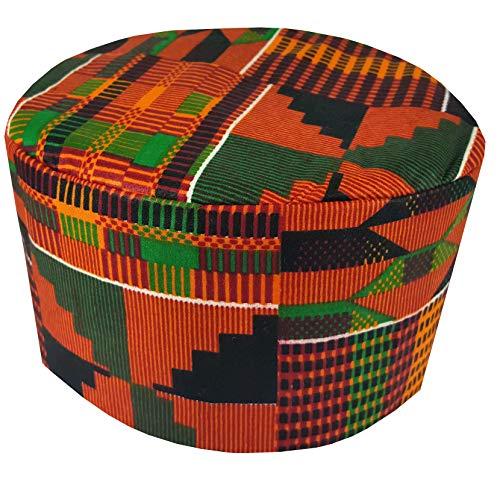 African Traditional Men Kids Kente Kofi Dashiki Cap