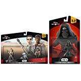 Disney Infinity 3.0 Star Wars Force Awakens Set: Kylo Ren + Rey + Finn NEW