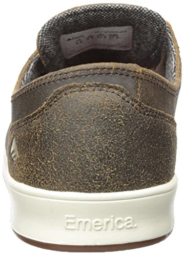 Skate Laced Gold Romero Gum Shoe Emerica Brown Rx0wH
