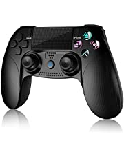 Gameeco Controller Wireless Joystick Controller for PS4 Playstation 4 Console with Dual Vibration, Built-in Speaker and Gyro Remote Pro Controller Gamepad-Black