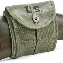 U.S. WW2 M1 Carbine Buttstock Type Pouch OD Green Marked JT&L 1944